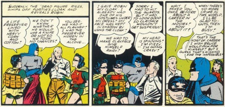 ¿Cómo se llamó la primera novia de Bruce Wayne?