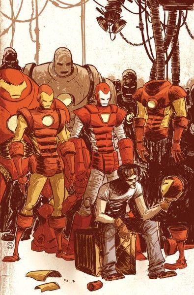 ¿Cuántas armaduras tiene Tony Stark?
