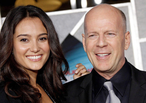 ¿Es la hija o la pareja de Bruce Willis?