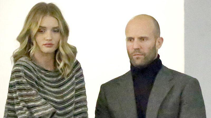 ¿Es la hija o la pareja de Jason Statham?