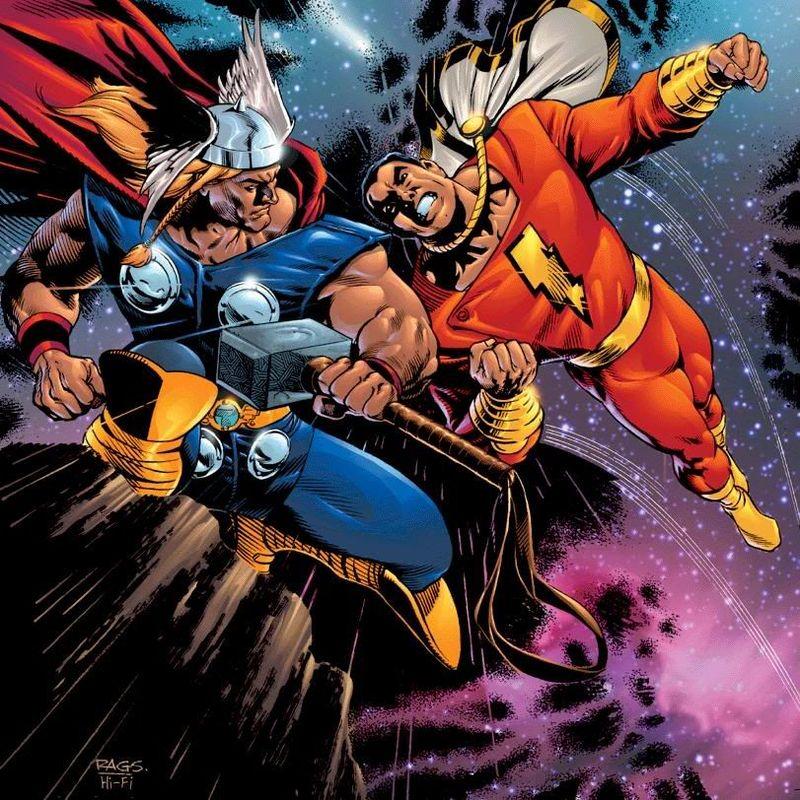 Thor vs Captain Marvel