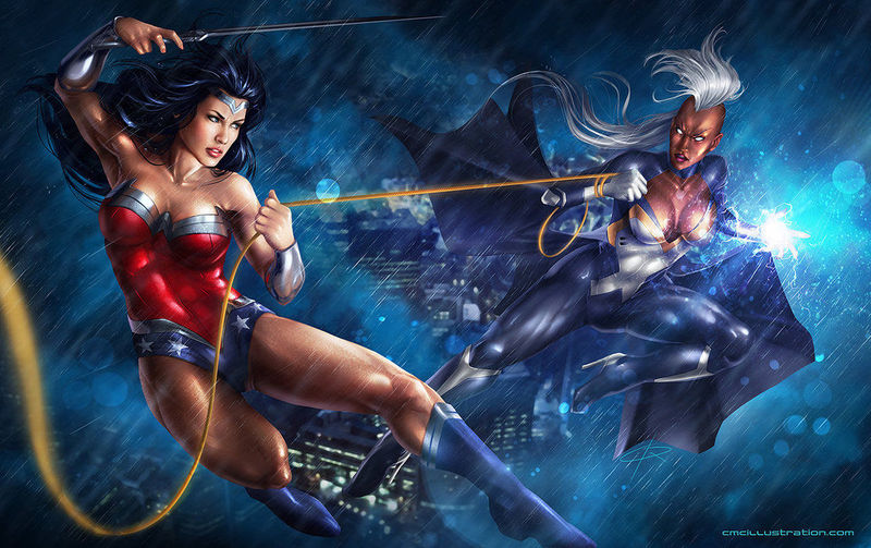 Wonder Woman vs Storm