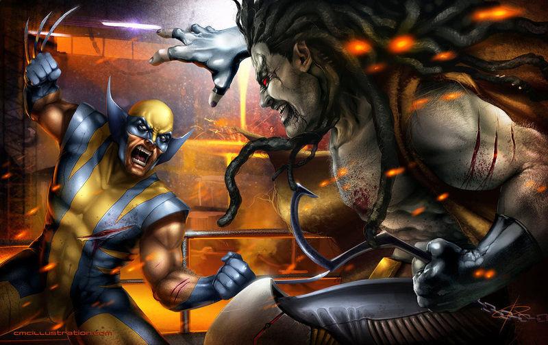 Wolverine vs Lobo