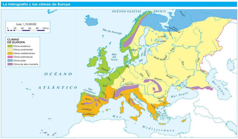 18725 - ¿Cuánto sabes sobre la hidrografía de Europa ?