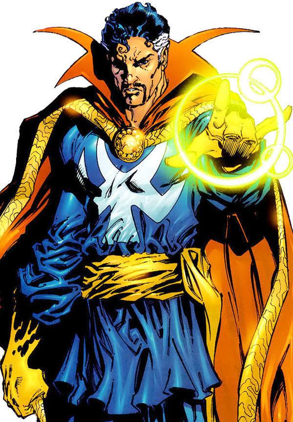 ¿Dónde se encuentra el Doctor Extraño durante la Guerra Civil Superheroica?