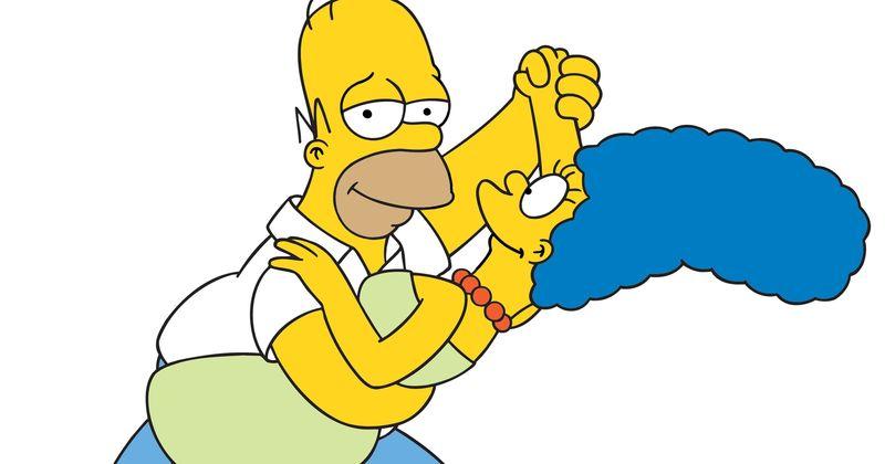 ¿Cuántos años tenía Homer cuando se dió su primer beso con Marge?