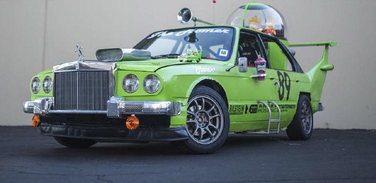 ¿Cómo se llamaba el coche que diseñó Homer?