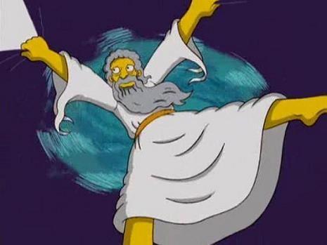 ¿Homer Simpson es creyente?