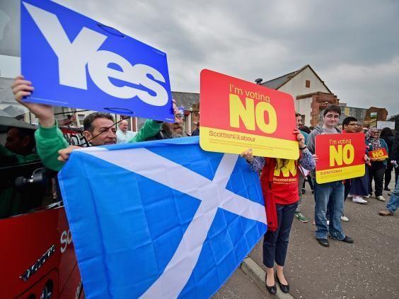 Si fueras escocés el pasado 18S-2014 hubieses votado ...