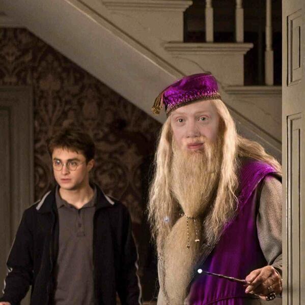 Ron Weasley es Albus Dumbledore del pasado