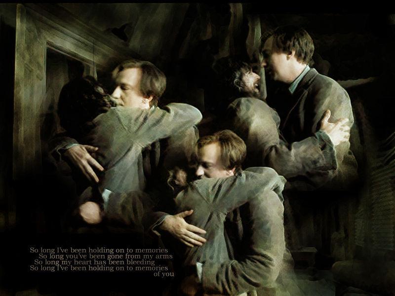 Sirius y Lupin están enamorados