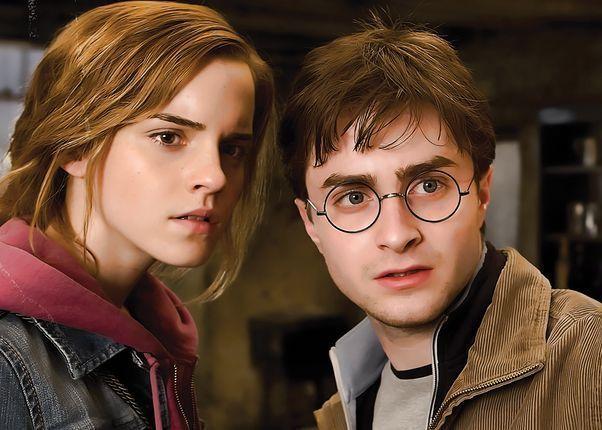 Harry Potter y Hermione Granger son hermanos