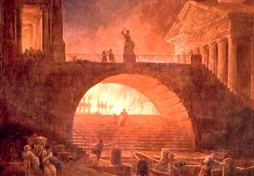 ¿Quién quemó Roma?
