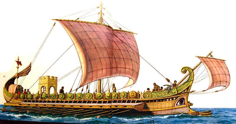 ¿Cuál fue el pueblo que luchó contra Roma, en las guerras púnicas, por el control del mediterráneo?