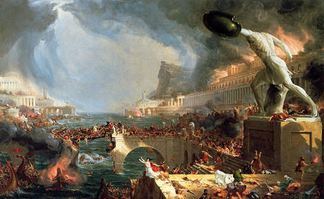 Roma fue saqueada por...