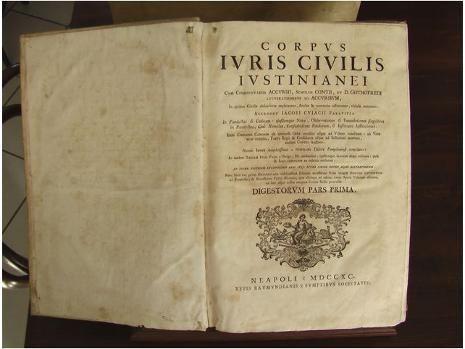 El Corpus Iuris Civilis es...