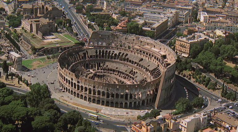 El coliseo romano es...
