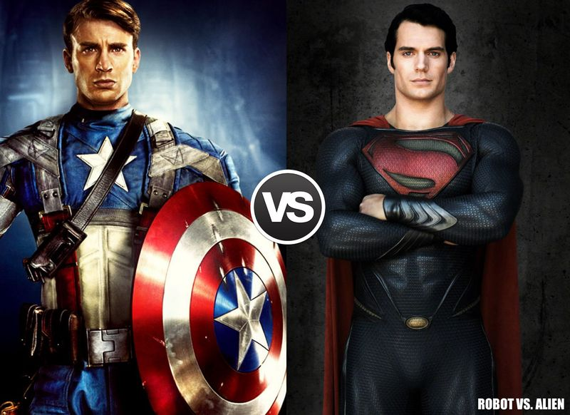 Capitán America vs Superman