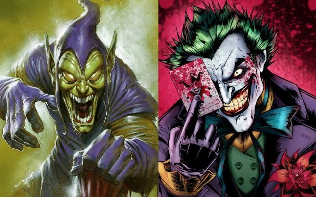 Green Goblin vs Joker