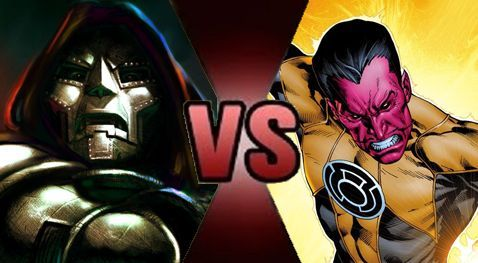 Doctor Doom vs Sinestro