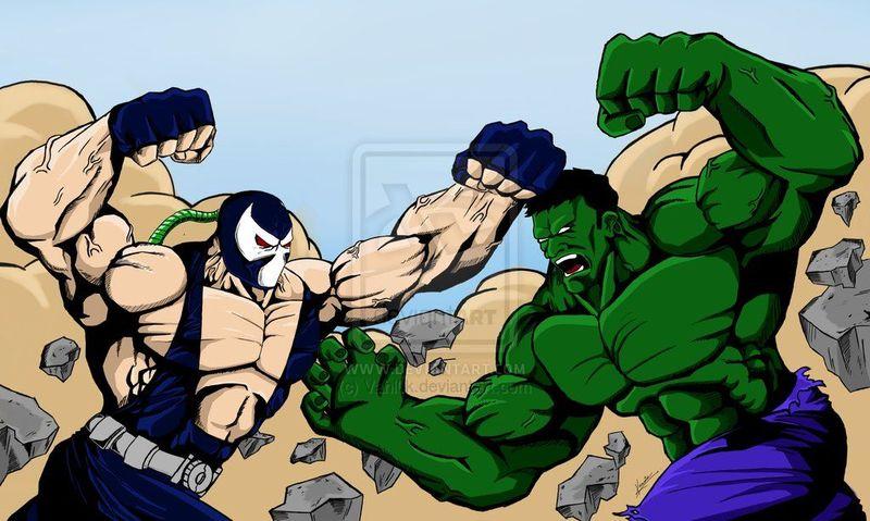 Bane vs Hulk