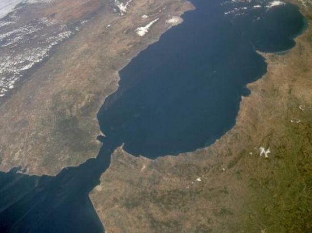 ¿Qué estrecho muestra esta imagen tomada por un satélite?