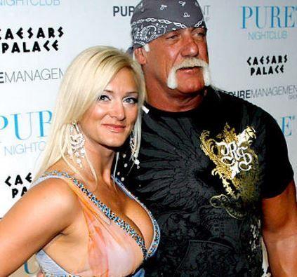 ¿Es la pareja de Hulk Hogan o es su hija?