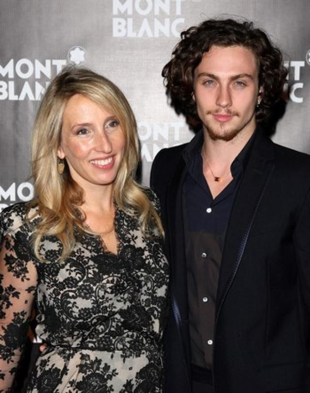 ¿Es la pareja de Sam Taylor Wood o es su hijo?