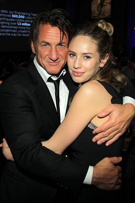 ¿Es la pareja de Sean Penn o es su hija?