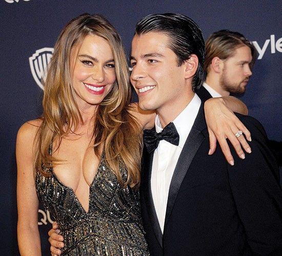 ¿Es la pareja de Sofía Vergara o es su hijo?