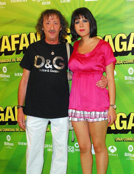 ¿Es la pareja de Eduardo Gómez o es su hija?