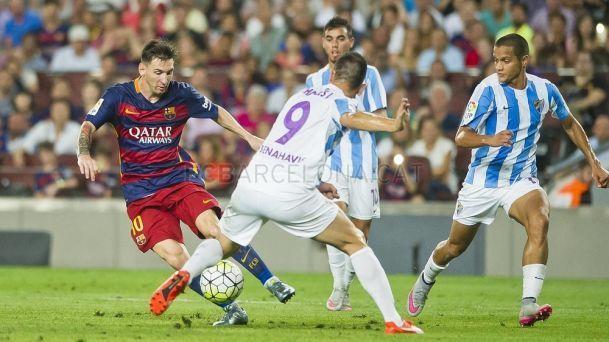 Jornada 2: El FC Barcelona derrota por un sufrido 1-0 al Málaga FC en el Camp Nou, ¿Quién marcó aquel gol?