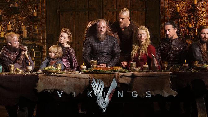 19100 - Personajes de la serie Vikingos