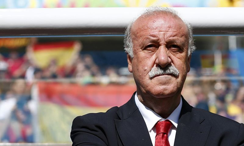 ¿En que temporada aunque no permaneció mucho tiempo, estuvo como entrenador del Beşiktaş Vicente del Bosque?