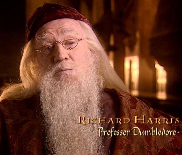 Richard Harris, el famoso Albus Dumbledore de la saga de Harry Potter murió en 2002, ¿Qué dijo antes de morir?