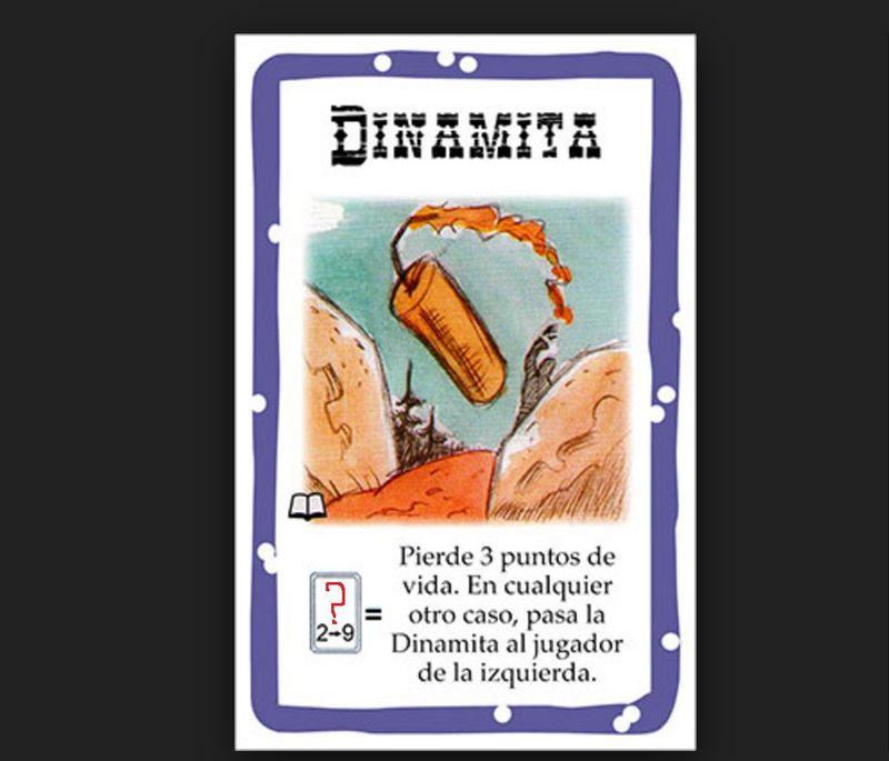 ¿De qué tiene palo que ser la carta que desenfundes para que explote la dinamita?
