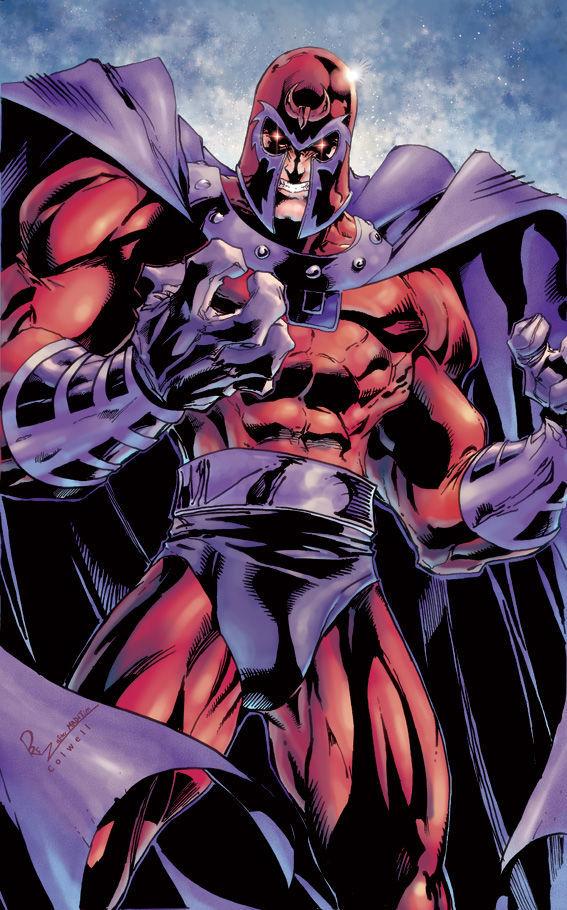 Magneto secuestra a un miembro de los héroes. ¿A que héroe?