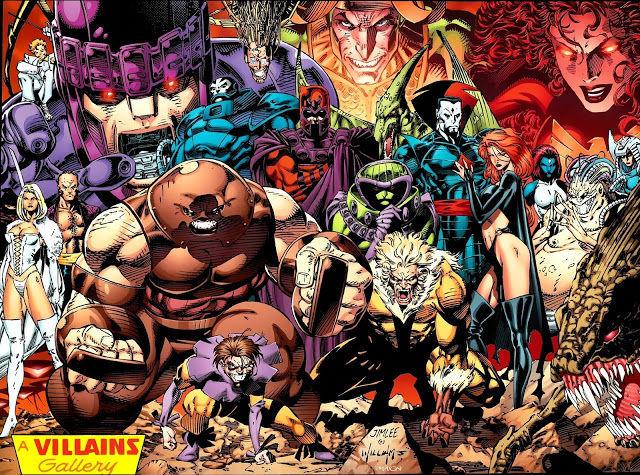 ¿Quién de estos villanos no se encuentra en la nave de los malos?