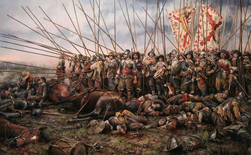 Sigamos con la historia, ¿Cuál de las siguientes batallas fue ganada con mayor desventaja en cuanto a hombres?