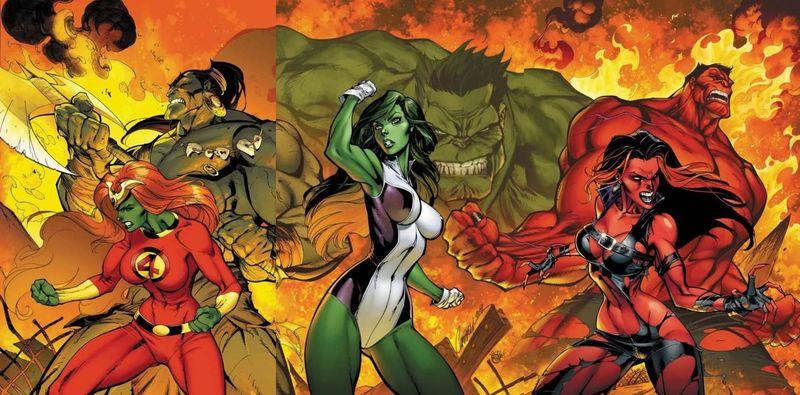 19264 - ¿Conoces a los miembros de la Hulk-familia?