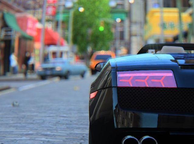 ¿Vida real o Lamborghini en Londres?