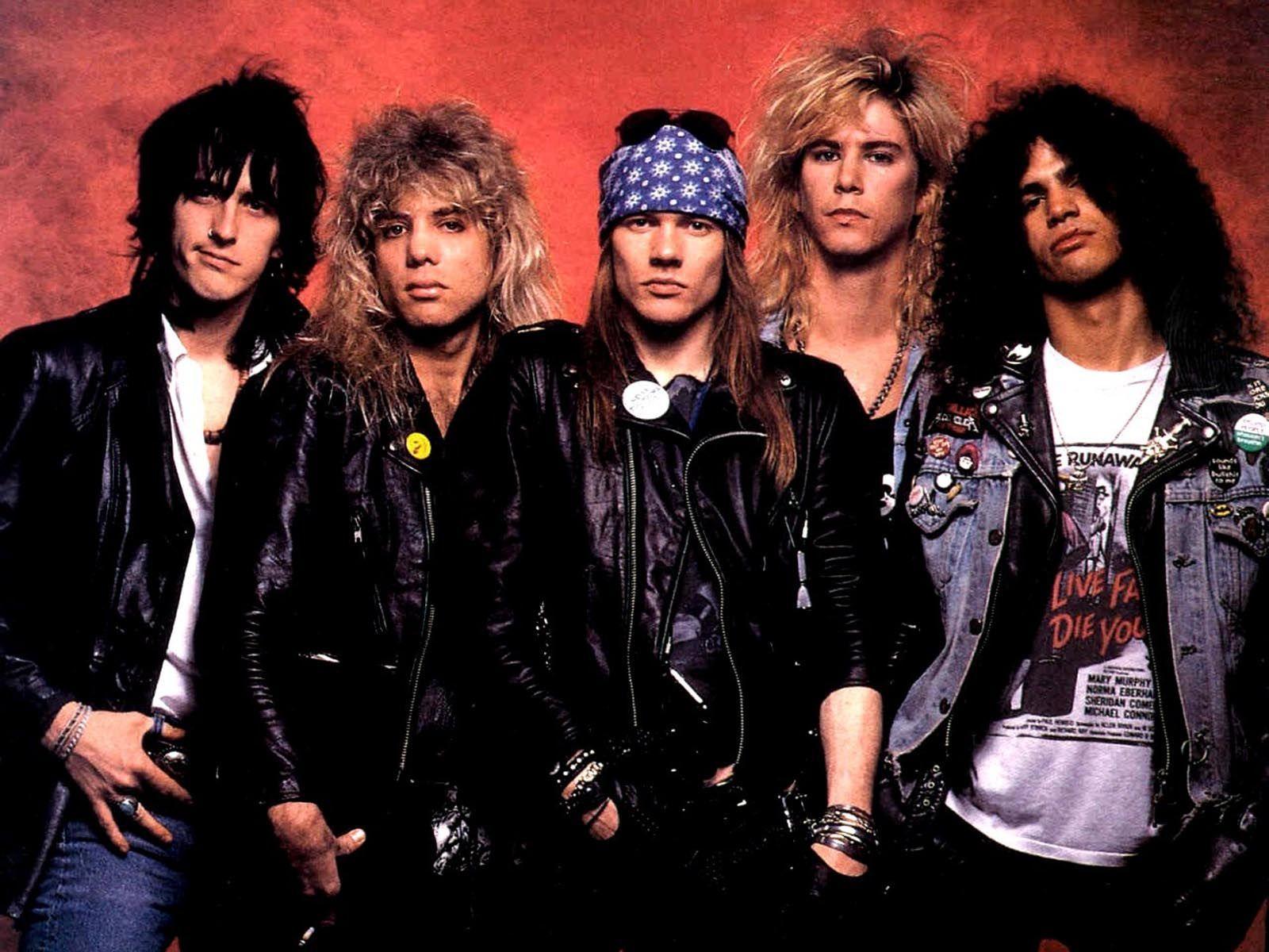 4108 - ¿Cuánto sabes de Guns N' Roses?