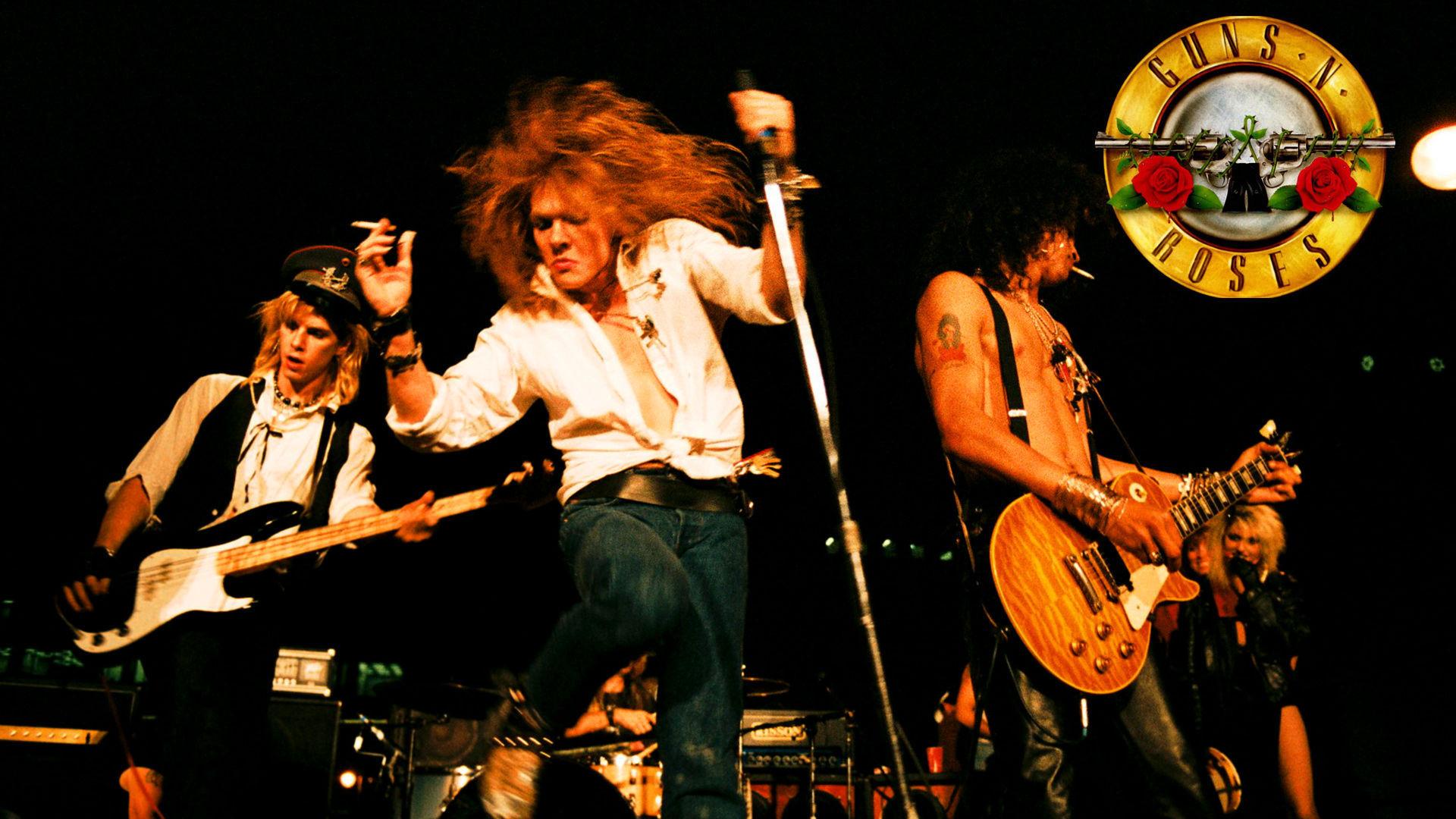 ¿Cuántos integrantes había en la formación original (Appetite for Destruction)?
