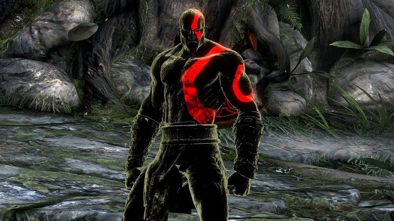 ¿De que color iban a ser los tatuajes de Kratos en el primer God of War?