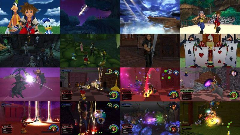 ¿Cuántos mundos JUGABLES tenia Kingdom Hearts 1