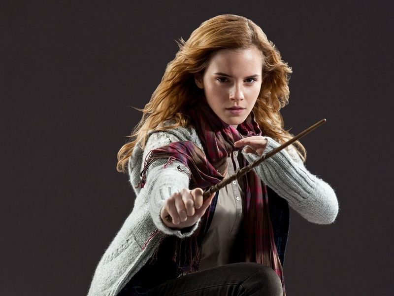 ¿Y Hermione?