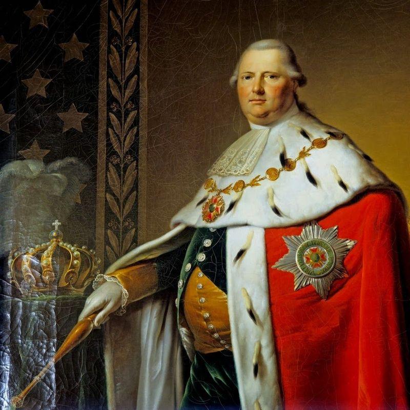 Continuamos con la realeza, el rey Adolfo Federico de Suecia era famoso por su afición a la comida, ¿Cómo murió?