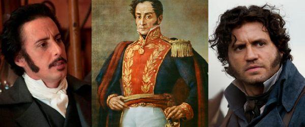 ¿Nombe del actor venezolano que lo interpretó en Libertador de Hollywood?