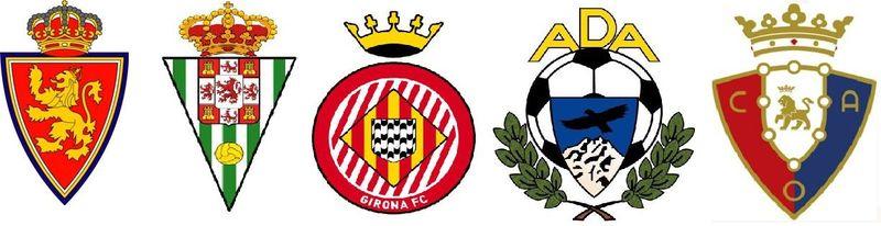 ¿Qué tres equipos acompañarán a uno de los anteriores en las plazas de promoción de ascenso? (1)