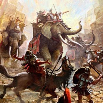 ¡Tu enemigo usa elefantes! ¿Cómo los detienes?